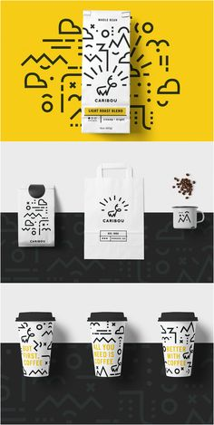 Design Agency / Designer: Ashbel Ong Project name: Caribou Coffee: Rebrand Location: Canada Category: Coffee, Beverage / packaging design / brand package / design inspiration / дизайн упаковки Web Design, Logo Design, Website Design, Brand Identity Design, Corporate Design, Design Agency, Brand Design, Coffee Logo, Coffee Branding