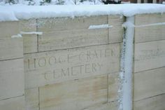 HOOGE CRATER CEMETERY. Begun by 7th Division Burial Officer early 10/1917. 76 original graves, Rows A - D, Plot I were greatly increased after the Armistice when graves were brought in from the battlefields of Zillebeke, Zantvoorde & Gheluvelt & smaller cemeteries. 5923 WWI Commonwealth soldiers are buried here. 3579 are unidentified, special memorials record casualties known or believed to be buried among them, or whose graves in other cemeteries were destroyed by shell fire. (Credit CWGC)