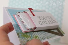 mailbox card - the little envelopes full of small value gift cards would be grea. - mailbox card – the little envelopes full of small value gift cards would be great for a birthday - Cute Cards, Diy Cards, Diy Creative Cards, Tarjetas Diy, Karten Diy, Scrapbook Cards, Homemade Cards, Cardmaking, Christmas Cards