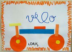 Le Journal de Chrys: Projet VELO en classe Kids Art Space, Art For Kids, Journal, Transportation, Preschool, Collage, Kids Rugs, Sports, Service