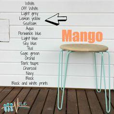 Mango goes with...