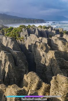 Pancake Rocks, Punakaiki on New Zealand's Wild West Coast - Driving New Zealand's Wild West Coast: Things to See & Do - The Trusted Traveller