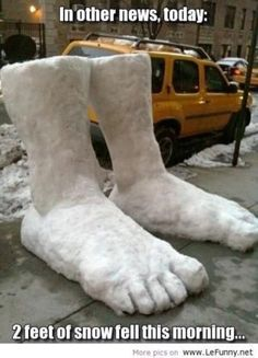 Two feet of snow fell this morning. Idk if this is as funny as I think it is but I couldn't help but lol! Lol, Haha Funny, Funny Memes, Funny Stuff, Funny Things, Funny Shit, Funny Quotes, Random Stuff, Random Things