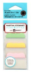 Amazon.com: Martha Stewart Home Office with Avery® Tabs, 2-Inch Solid, Assorted Pastel Colors, 10-Tabs/Color, 3 Colors, 30-Tabs/Pack: Office Products