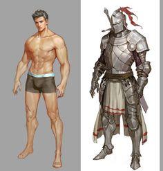 갑옷(6) : 네이버 블로그 Character Design Challenge, Character Design Sketches, Character Design Cartoon, Fantasy Character Design, Character Design References, Character Drawing, Character Design Inspiration, Comic Character, Character Concept