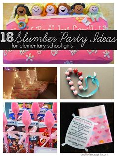 18 Slumber Party Ideas {Party Planning}
