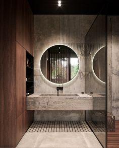Hausbau Ideen, Bäder Ideen, Haus Bauen, Badezimmer, Einrichtung, Deko,  Innenausbau, Minimalistisches Badezimmer, Minimalistische Wohnkultur, ...