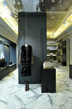 Inside the Givenchy store in Paris. [Photo by Dominique Maitre]