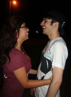 Mitch and Kirstie, probably when they used to date (ikr)