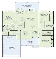 Room for schoolroom open floorplan