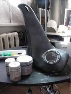 Делаем маску «Чумной Доктор» - Ярмарка Мастеров - ручная работа, handmade