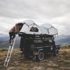 Cross-country car camping