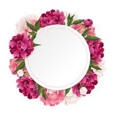 New Wallpaper Laptop Design Flower Ideas Framed Wallpaper, Flower Background Wallpaper, Flower Backgrounds, Clipart Baby, Art Clipart, Fond Design, Logo Floral, Floral Border, Instagram Highlight Icons