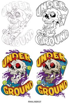 UNDERGROUND .I on Behance