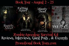#Win a Zombie Apocalypse Survival Kit in the Barely Alive Book Tour #Giveaway