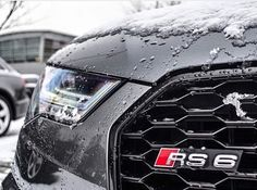 Deep love affairs - Audi RS6 and quattro snow