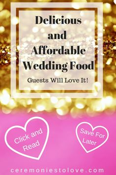 Wedding Reception Food Are you looking for wedding foods that you guests will love and you can afford? Look no more. Read this for ideas to make your wedding reception memorable. Plan Your Wedding, Budget Wedding, Wedding Tips, Wedding Blog, Diy Wedding, Wedding Foods, Wedding Ceremony, Wedding Planning, Dream Wedding