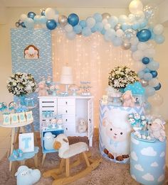Twin Baby Boys Twin Babies Christening Themes Baby Deco Party Themes For Boys Boss Baby Shower Party Baby Shower Parties Baby Shower Planner Baby Shower Decorations For Boys, Boy Baby Shower Themes, Baby Shower Parties, Baby Boy Shower, Shower Party, Die Dinos Baby, Baby Shower Planner, Deco Buffet, Baby Deco