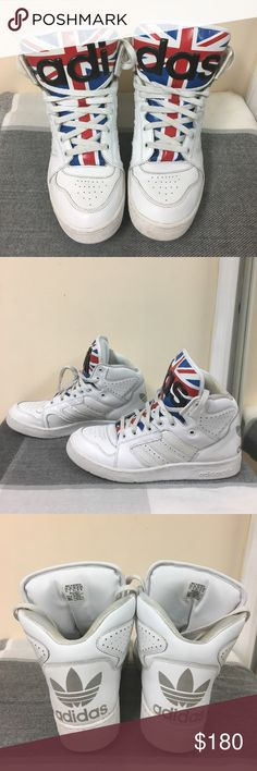 8b45cdbbe6bed Adidas Best Quality Easy Travelling Shoes Women White Red White Blue Unique  Taste Jeremy Scott New Year