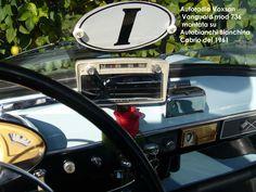 Voxson Vanguard 736 & Bianchina Cabrio (1961)