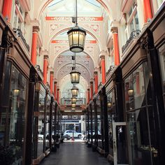 The Royal Arcade in