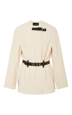 Glasco Belted Jacket  by ISABEL MARANT Now Available on Moda Operandi