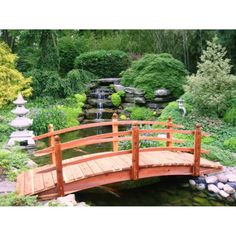 Pont de jardin: designs inspirants en 55 photos fascinantes ...