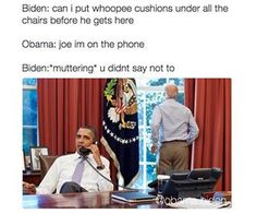 When he just wanted to be petty one last time: | 19 Joe Biden Memes That Will Get You Through The Next Four Years