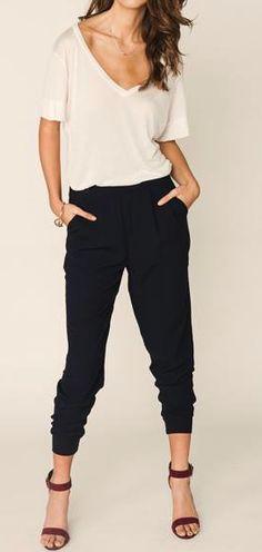 Slouch pants