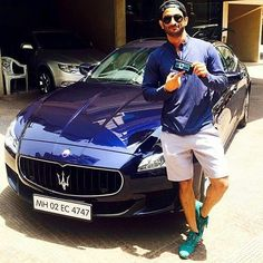 Beauty and the beast. Sushant Singh Rajput poses with his bramd new Maserati Quattroporte. @filmywave  #SushantSinghRajput #Maserati #quattroporte #masratiquattroporte #celebrity #bollywood #bollywoodactress #bollywoodactor #actor #actress #star #fashion #fashionista #bollywoodfashion #bollywoodstyle #glamorous #hot #sexy #love #beauty #instalike #instacomment #filmywave