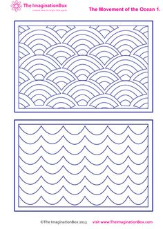 explore the movement of the ocean with this free download colour in activity sheet
