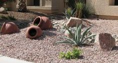 Simple Xeriscape Designs | Xeriscape design is not as easy as you may think, designing a desert ... #rockgardenbordersdroughttolerant (rock garden borders drought tolerant)