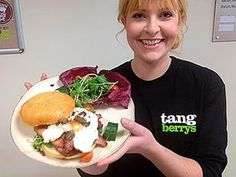 The world's most expensive bacon sandwich is seen on Vic Minett Afternoon Show's Facecbook page http://on.fb.me/ZgAeto . (©Vic Minett Afternoon Show / Facebook)
