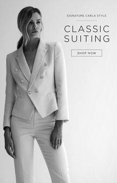 Carla Zampatti Home Page Carla Zampatti, Corporate Chic, Online Boutiques, Classic Style, Bali, Ready To Wear, Shop Now, Suits, Clothes For Women
