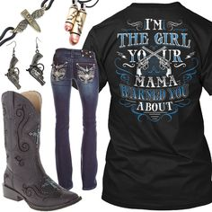 Your Mama Warned You About Outfit - Real Country Ladies