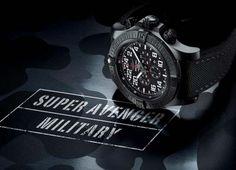 Breitling Super Avenger Military Chronograph