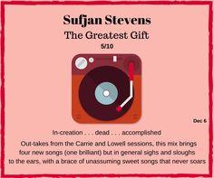 Sufjan Stevens, Song One, News Songs, Rock Music, Album, Big, Rock, Card Book