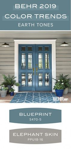 Ground your home with this earth tone paint color palette from the Behr 2019 Col. Ground your home with this earth tone paint color palette from the Behr 2019 Col… Best Exterior Paint, House Paint Exterior, Exterior Siding, Gray Siding, Gray Exterior, Exterior Remodel, Wall Exterior, Modern Exterior, Exterior Paint Ideas