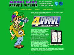 The Parade Tracker App is back! Updated to include over 50 Mardi Gras Parades for 2015. Free from iTunes and Android.