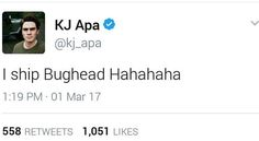 YES A BUGHEAD SHIPPER