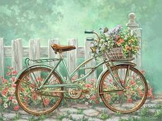 #art #painting #beautiful #sanat #resim #güzellik #bisiklet #bicycle #çiçekler #flowers http://turkrazzi.com/ipost/1517638390219018376/?code=BUPvBM6gBCI