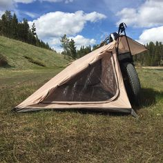 Gear Review - Nomad Motorcycle Tent ~ Return of the Cafe Racers