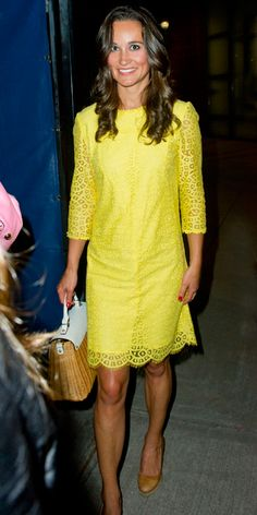 Pippa Middleton's Style - September 5, 2012 from #InStyle