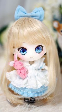 CHUCHU Type white Skin Girl type with Make up is the another stock item from Candy Dream, you can get it right away! Ready to ship, anytime anywhere! Kawaii Doll, Kawaii Anime, Anime Dolls, Blythe Dolls, Chibi, Cute Baby Dolls, Dream Doll, Smart Doll, Doll Repaint