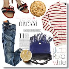 American Dream by myfashionwardrobestyle on Polyvore featuring polyvore fashion style H&M Chanel Proenza Schouler