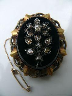 biedermeier brooch