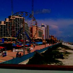 Daytona Beach Florida. Didn't really enjoy the ride, but had a wonderful vacation here.
