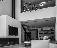 Kepler pendant lamp design for / venn ceiling light design by Private residence Vouliagmeni area Ceiling Light Design, Lighting Design, Ceiling Lights, Lamp Design, Interior Styling, Interior Decorating, Interior Design, Glyfada Greece, Light Installation