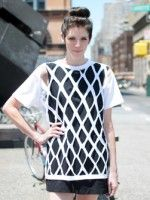 DIY A Cut-Out T-Shirt In Less Than 15 Minutes #refinery29