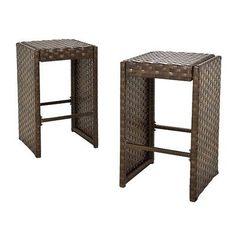 Belmont 2-Piece Brown Wicker Patio Bar Stool Set. Deal Price: $125.24. List Price: $166.99. Visit http://dealtodeals.com/belmont-piece-brown-wicker-patio-bar-stool-set/d20085/patio-lawn-garden/c87/